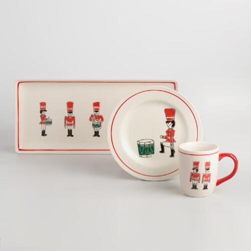 Drummer Boy Dinnerware Collection