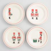 Drummer Boy Plates Set of 4