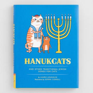 Hanukcats and Other Traditional Jewish Songs for Cats  Book