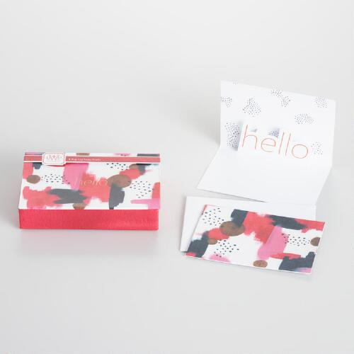 Watercolor Pop-Up Notecards Set of 8
