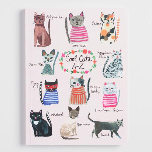 Cool Cats A to Z Journal