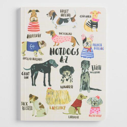 Hotdogs A to Z Journal