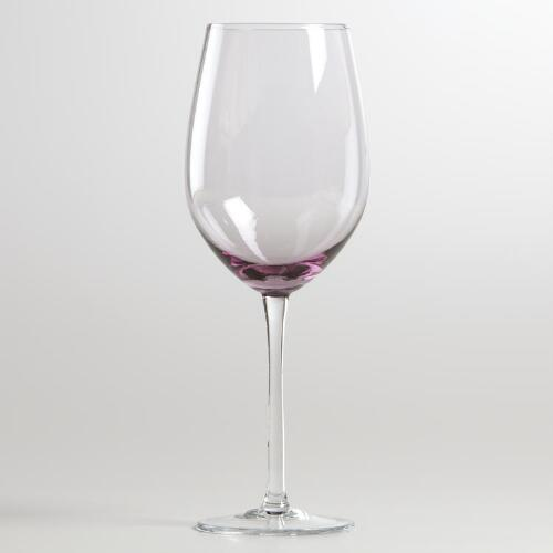 Plum Jubilee Red Wine Glass, Set of 4
