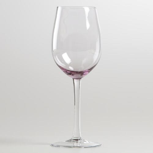 Plum Jubilee White Wine Glass, Set of 4