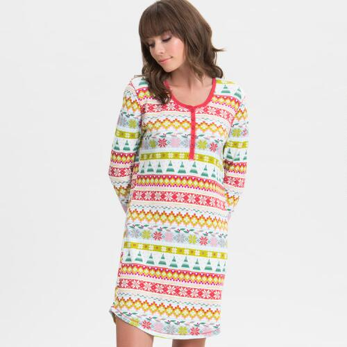 Fair Isle   Nightshirt