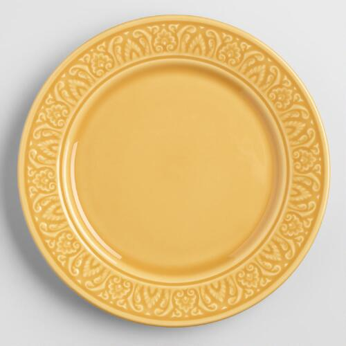 Amber Salad Plates, Set of 4