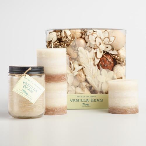 Vanilla Bean Candle Collection