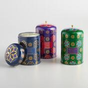 Global Gatherings Candle Tin Collection