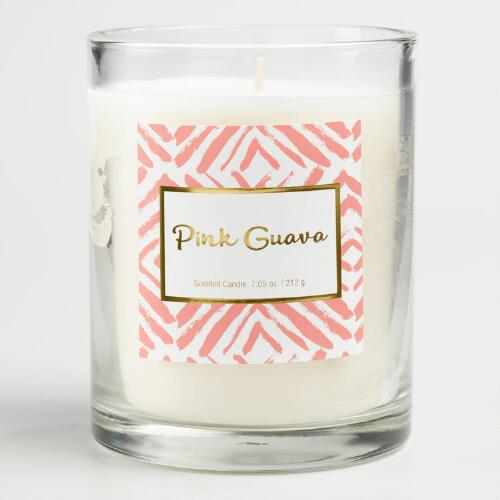 Pink Guava Gemma Boxed Jar Candle