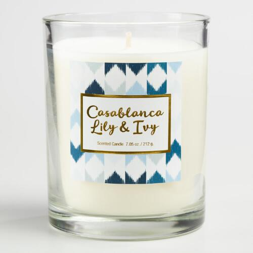 Casablanca Lily and Ivy Gemma Boxed Jar Candle