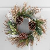 Winter Fern Wreath
