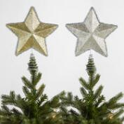 Retro Star Tree Toppers Set of 2