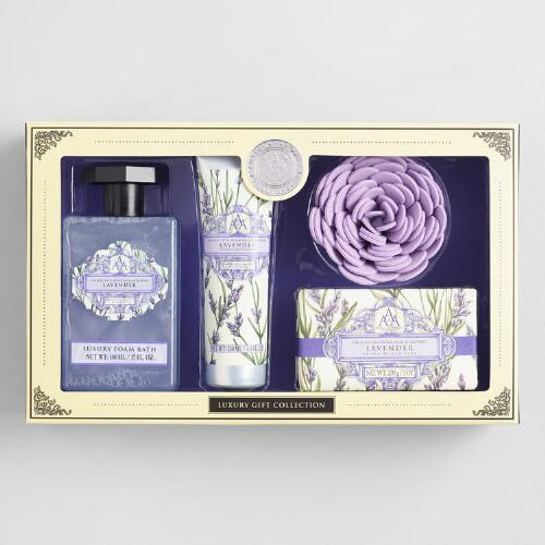 AAA Lavender 4 Piece Bath Gift Set