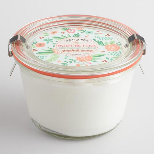 Winter Garden Grapefruit and Orange Body Butter