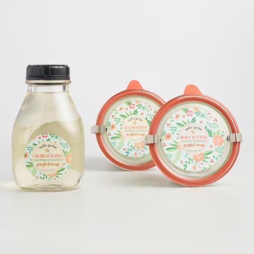 Winter Garden Grapefruit and Orange Bath and Body Collection