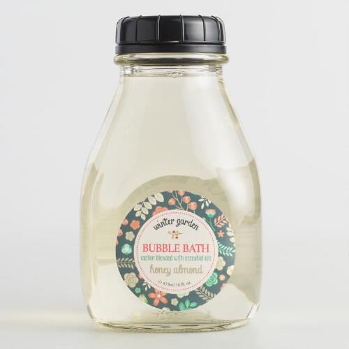 Winter Garden Honey Almond Bubble Bath