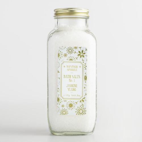 Winter Sparkle Jasmine Bath Salts