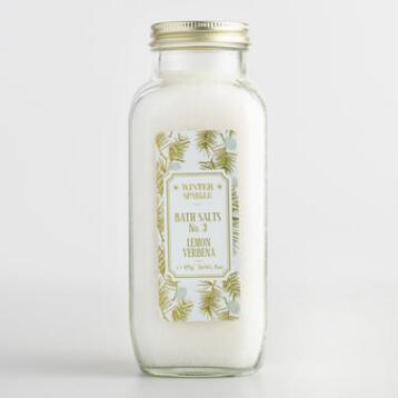 Winter Sparkle Lemon Verbena Bath Salts