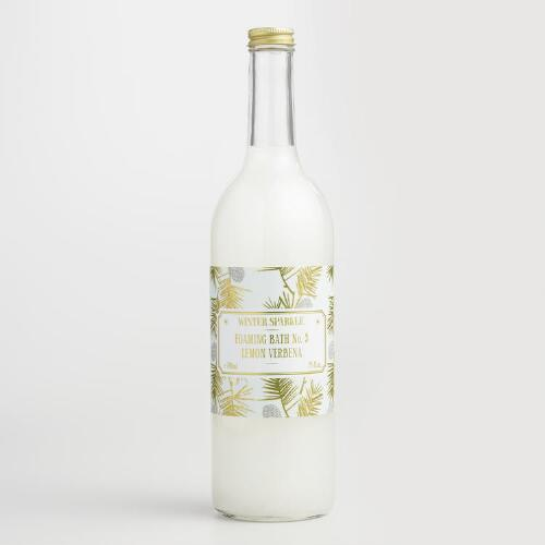 Winter Sparkle Lemon Verbena Bubble Bath