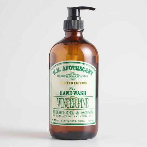 Apothecary Winter Pine Liquid Hand Soap