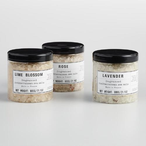 Botanical Sea Salt Bath Collection