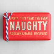 A&G Naughty Mistletoe Bar Soap Set of 2