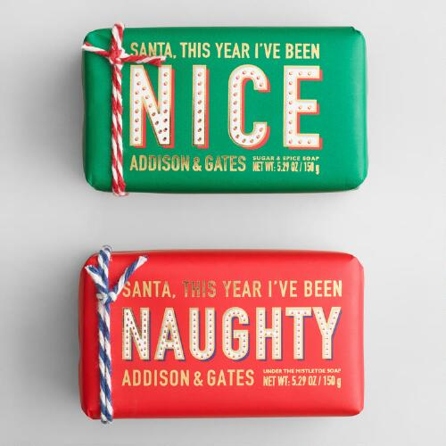 A&G Naughty and Nice Bar Soap Collection