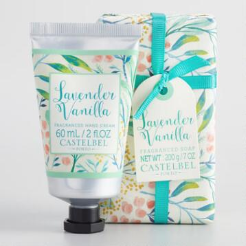 Castelbel Lavender Vanilla Bath and Body Collection
