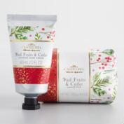 Castelbel Red Fruits and Cedar Bath and Body Collection