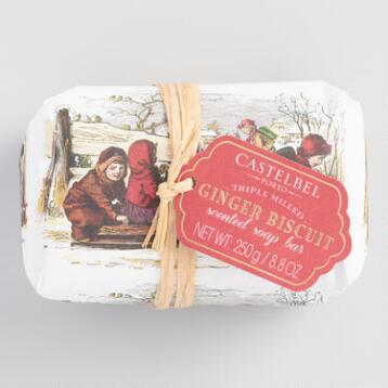 Castelbel Vintage Christmas Ginger Biscuit Bar Soap