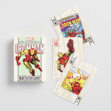 Marvel Comics Iron Man Playing Cards