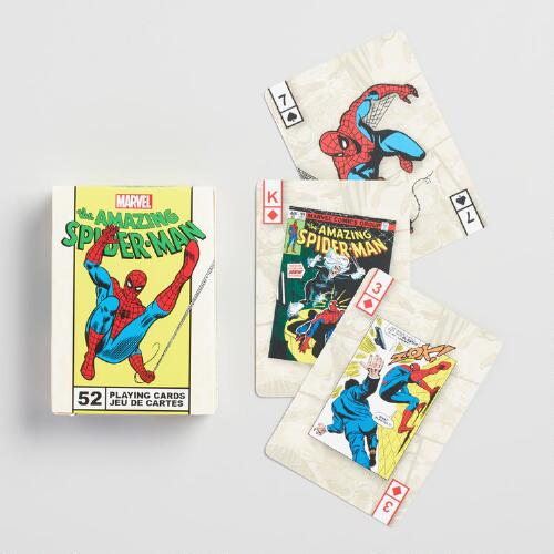 Marvel Comics Spider-Man Playing Cards