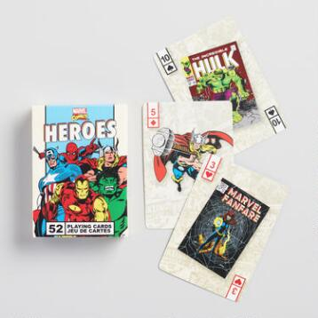 Marvel Comics Heros Playing Cards
