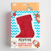 DIY Stocking Ornament Kit