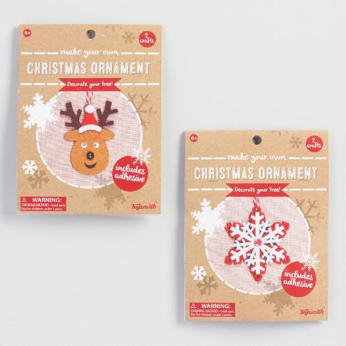 Make Your Own Ornament Kit Set of 2