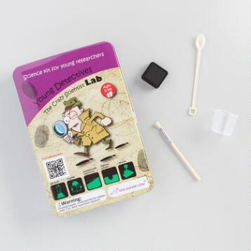 The Crazy Scientist Lab Young Detectives Science Kit
