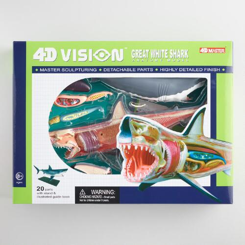 4D Vision Great White Shark