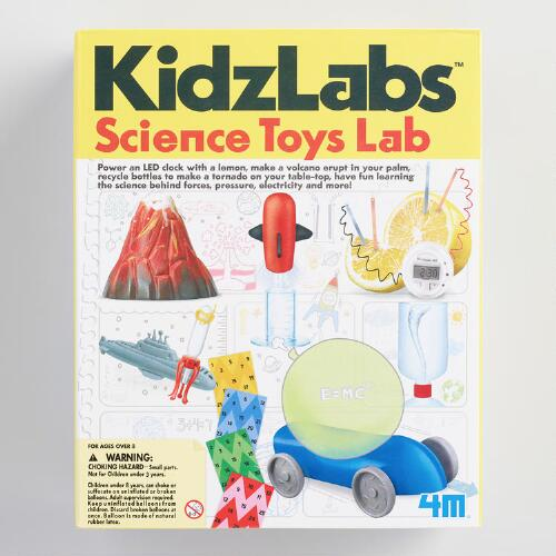kitchen science kidz labs instructions