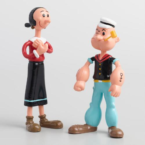 Bendable Popeye Toy Collection