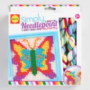 Alex Toys Simply Needlepoint Butterfly Kit