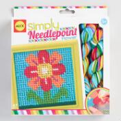 Alex Toys Simply Needlepoint Flowers Kit