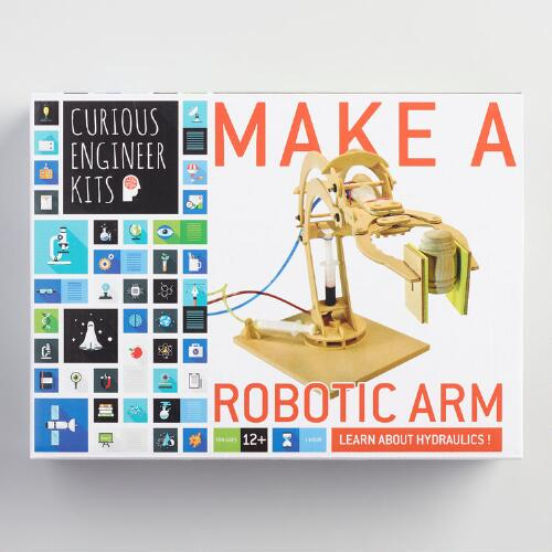 Curious Engineer Make A Robotic Arm Kit