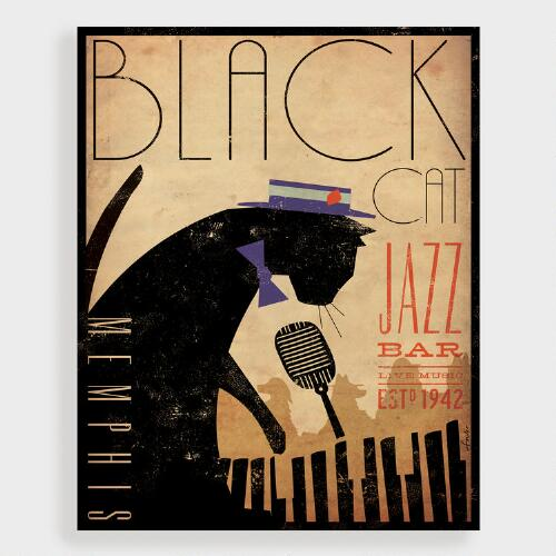 Black Cat Jazz by Stephen Fowler