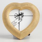 Gold Heart Evey Frame