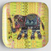 Yellow Elephant Trinket Dish