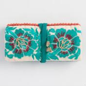 Turquoise Jewelry Roll
