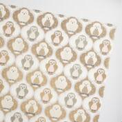 Jumbo Solstice Owls Wrapping Paper Roll