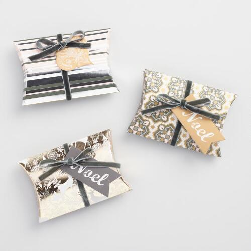 Solstice Pillow Gift Pouches Set of 3