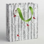 Medium Snowbird Branches Paper Gift Bag