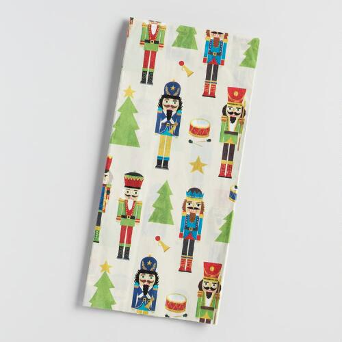 Nutcracker Tissue Paper 2 Pack